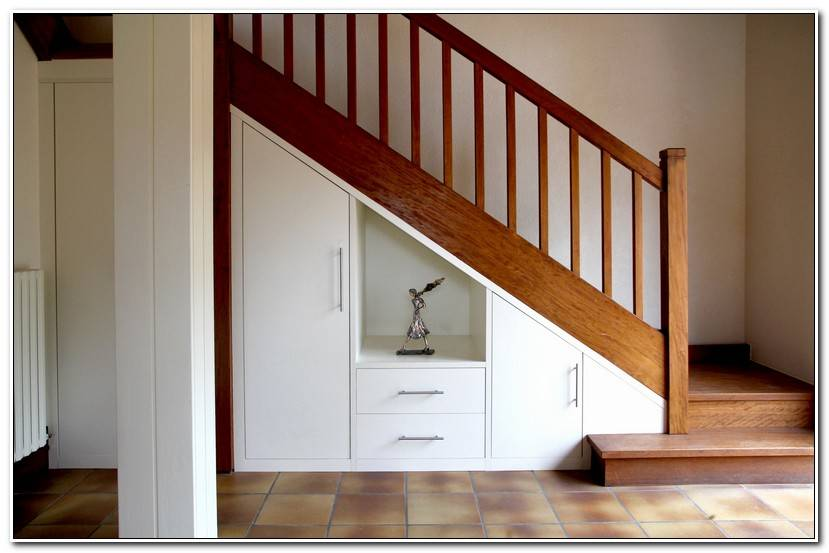 Inspirant Amenagement Dessous Escalier