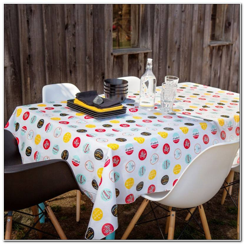 Inspirant Nappe De Table Ovale