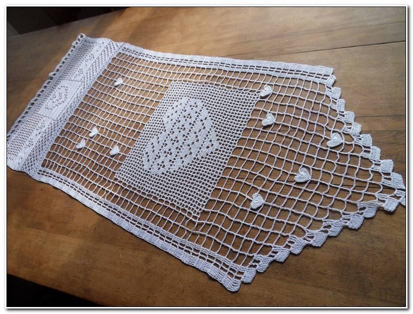 Inspirant Rideaux Au Crochet Fait Main