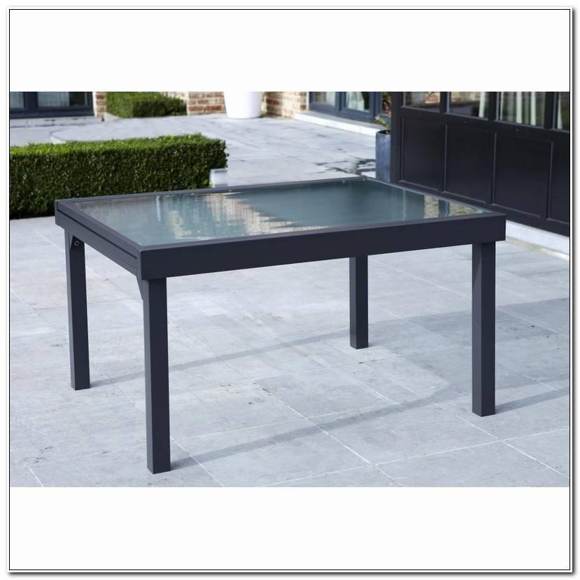 Inspirant Table De Jardin En Verre