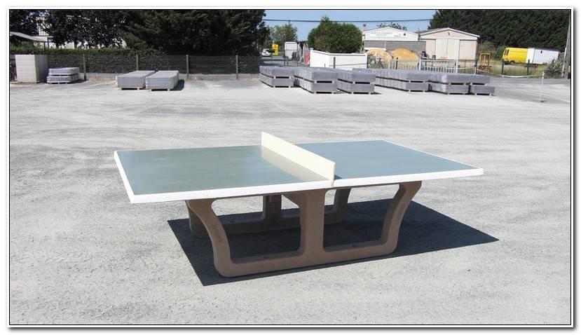 Inspirant Table De Ping Pong Exterieur Pas Cher