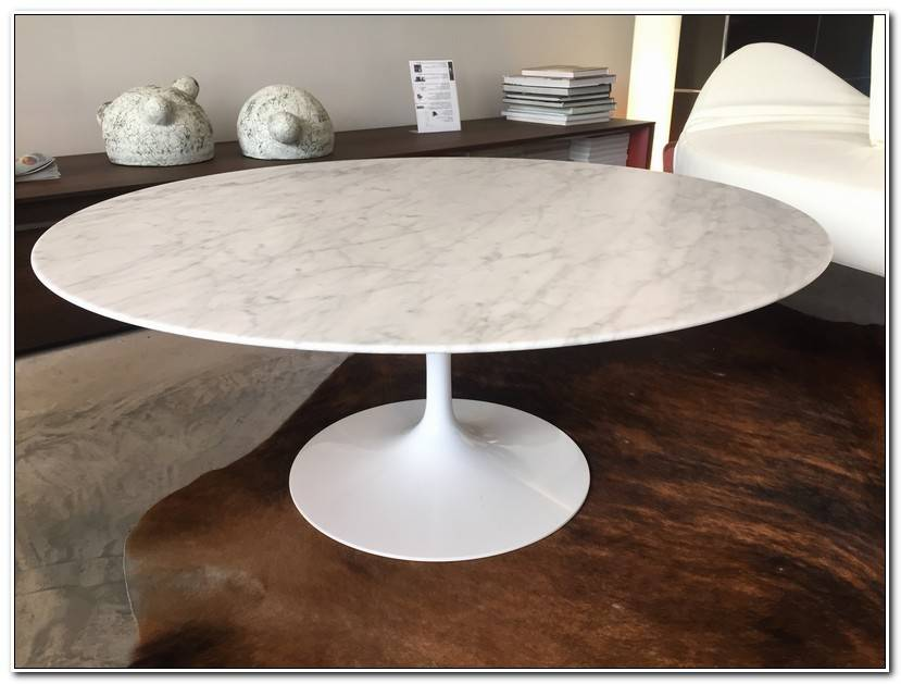Inspirant Table Knoll Marbre