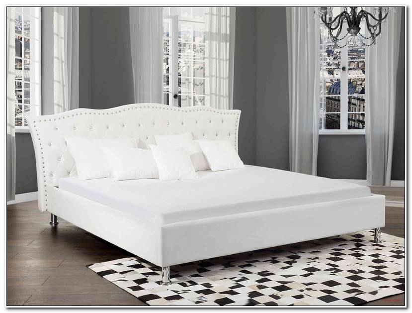 Inspirational Bett Weiß 180×200