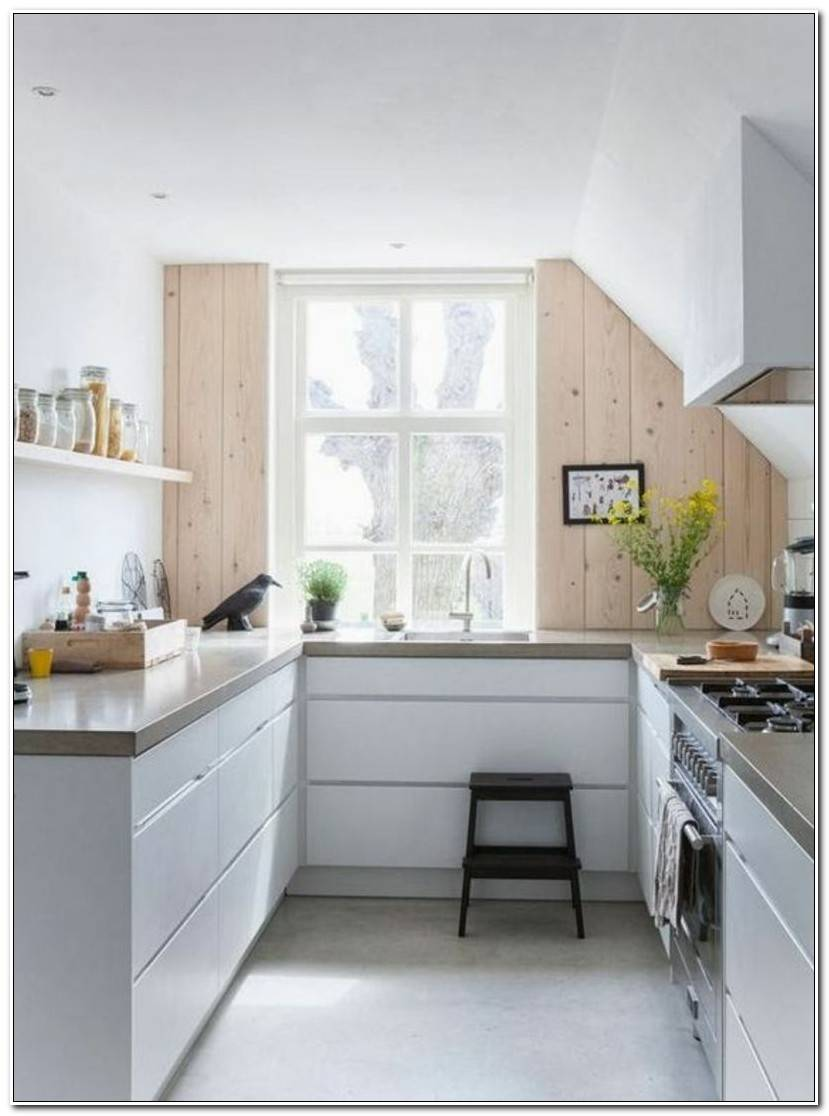 Inspirational Kleine Einbauküche