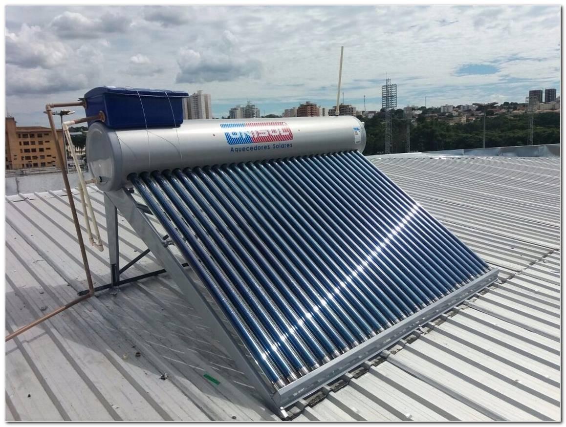 Instala%C3%A7%C3%A3o Aquecedor Solar Pre%C3%A7o