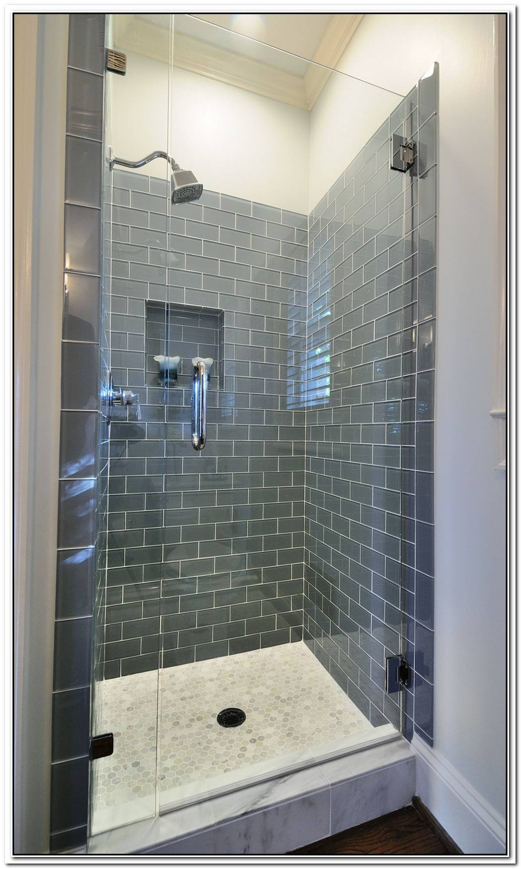 Instead Bathroom Glass Tile