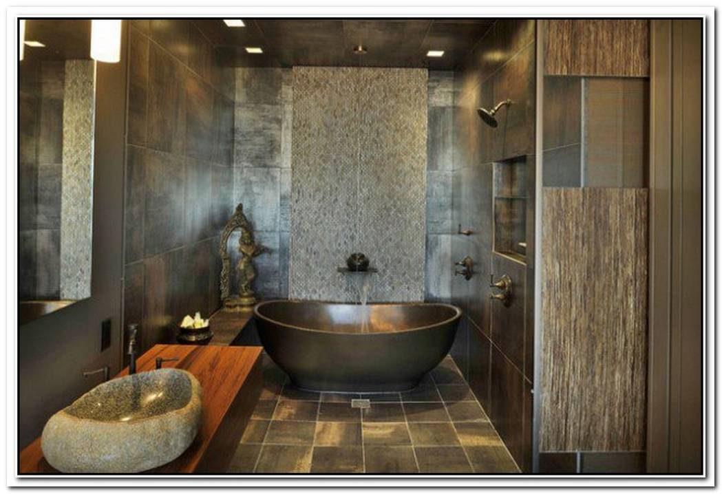 Interior Bathroom Oriental