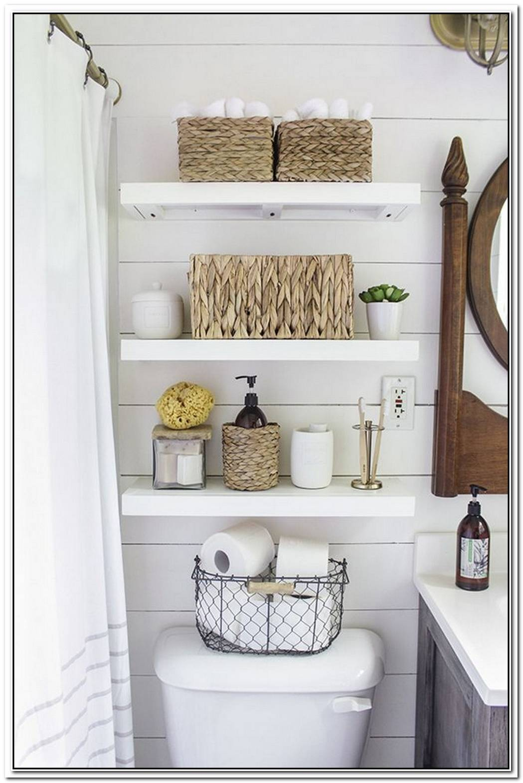 Interior Bathroom Small Space Organization