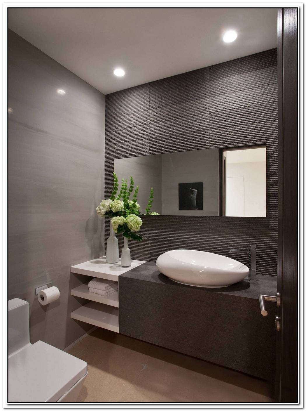 Interior Beach Contemporary Bathroom