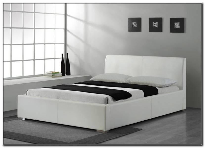 Into Bett 160×200 Weiß