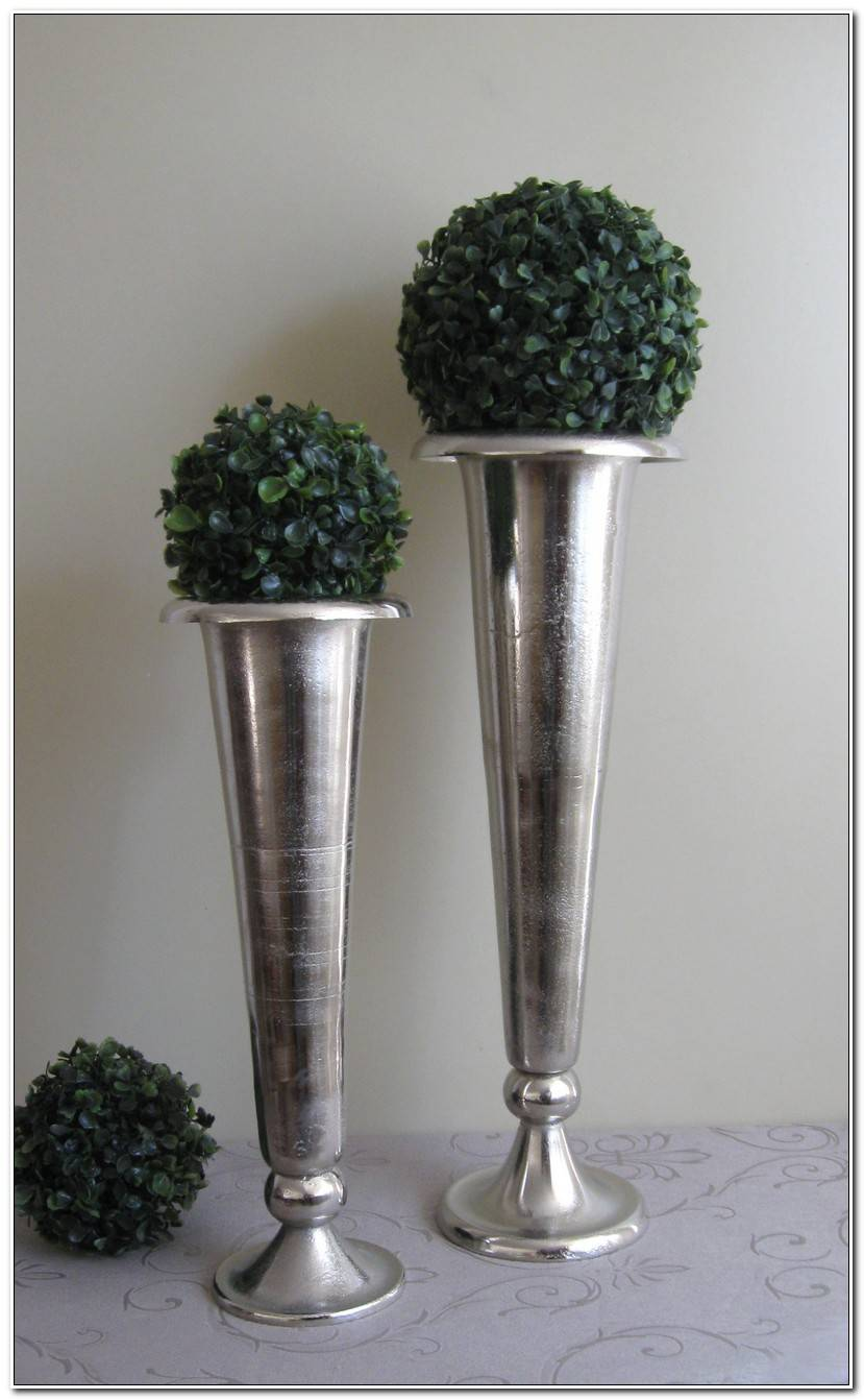 It Is Bodenvase Silber