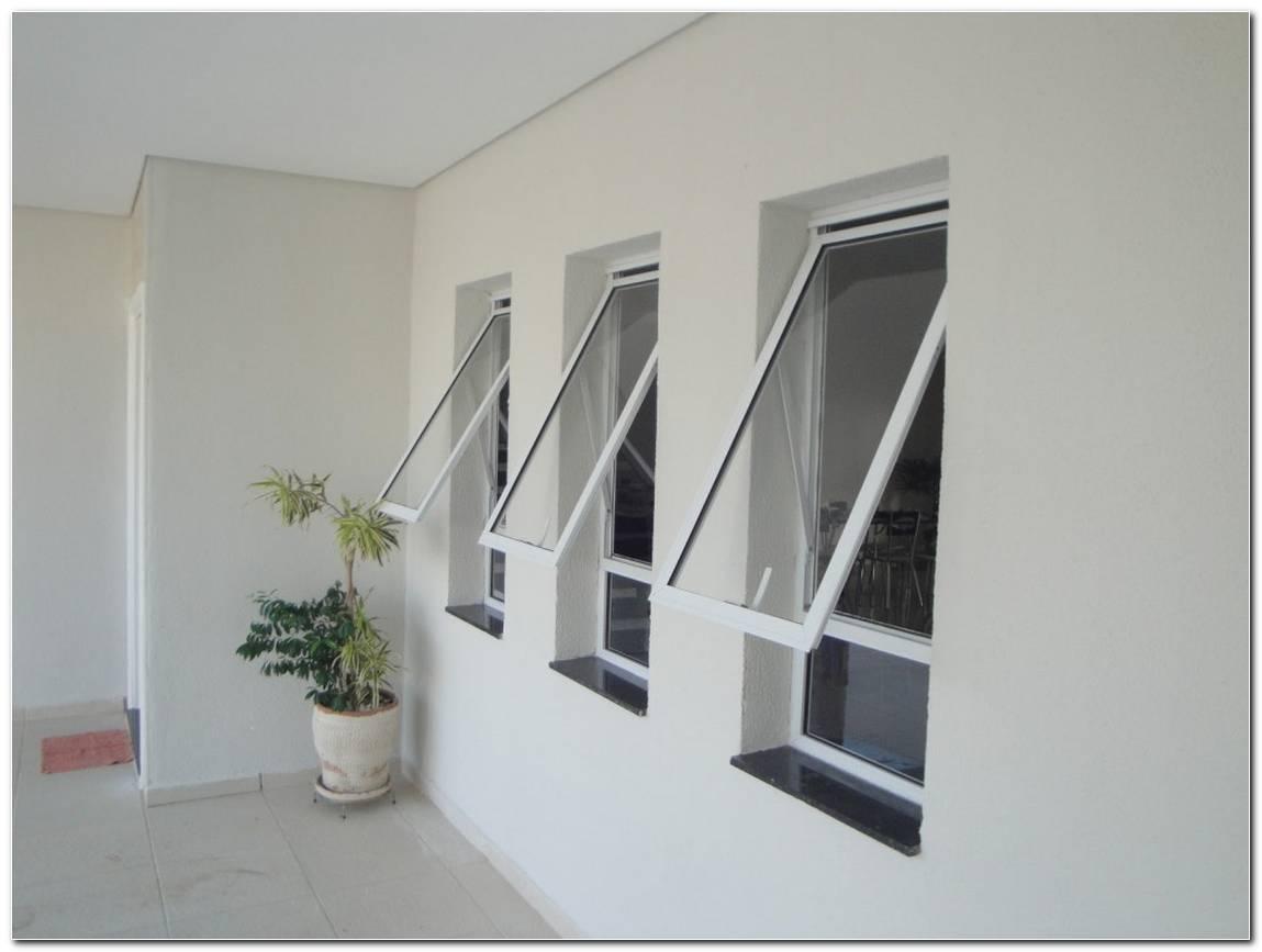 Janela De Aluminio Branco Para Sala