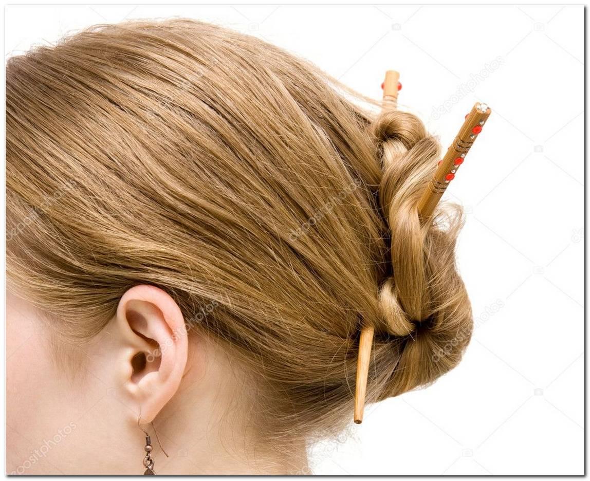 Japanische Frisur Mit StäBchen