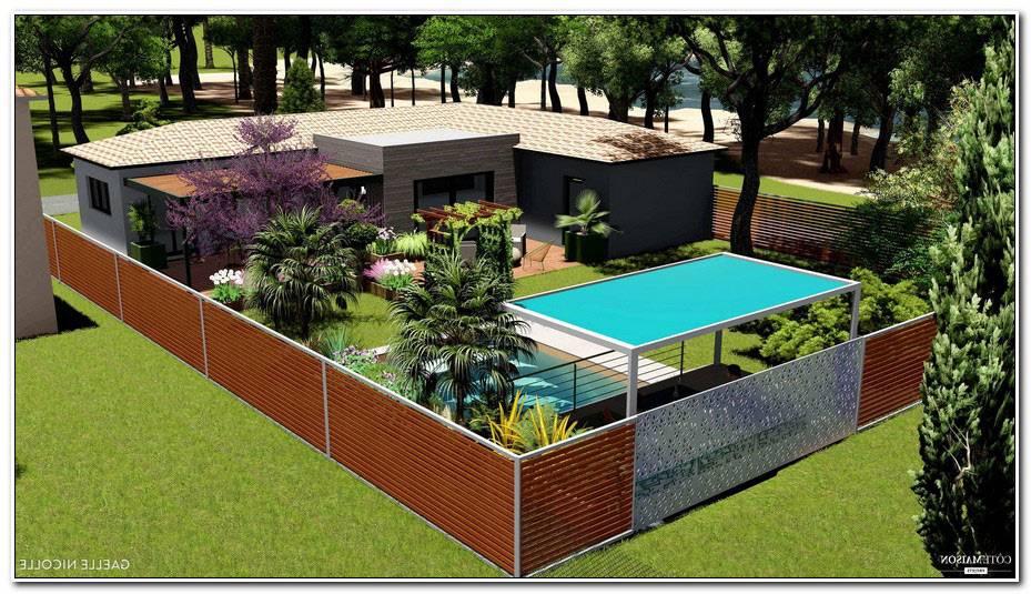 Jardin De Maison Moderne