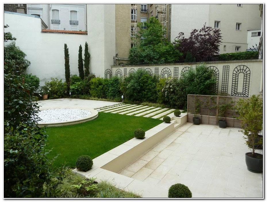 Jardin Et Terrasse Contemporain