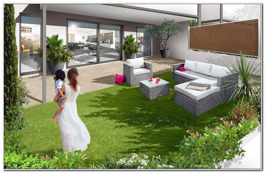 Jardin Et Terrasse Privative