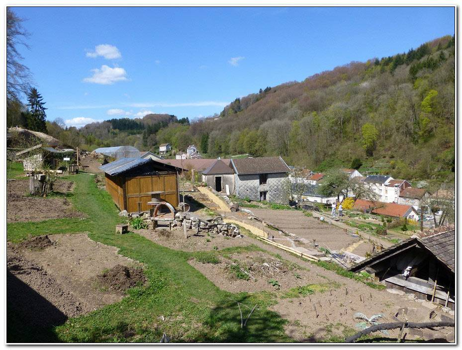 Jardins En Terrasses Plombieres