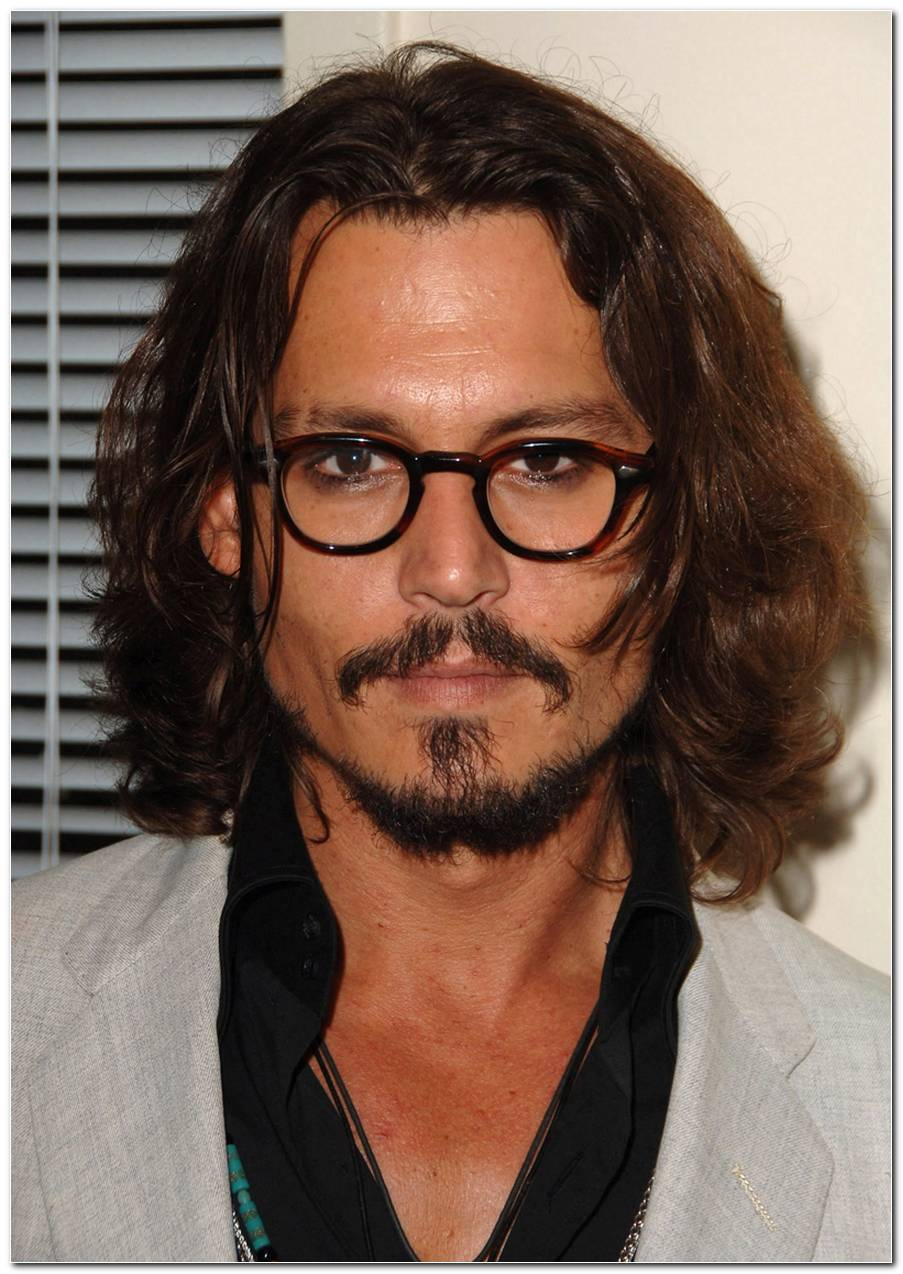 Johnny Depp Frisur Kurz