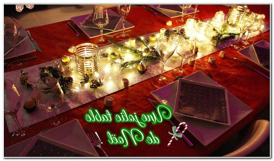Jolie Table De Noel