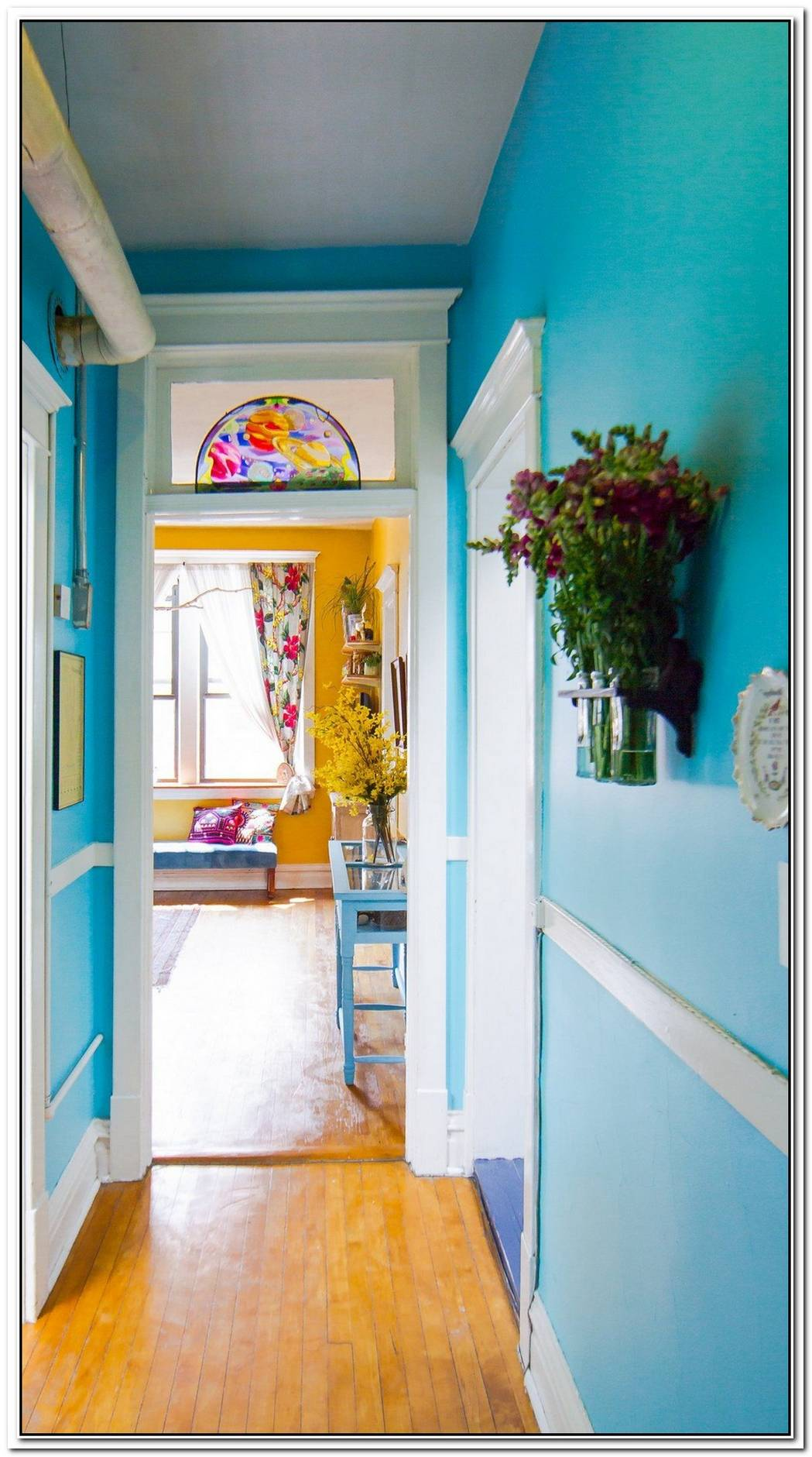 Joyful Colored House For A Happy Family