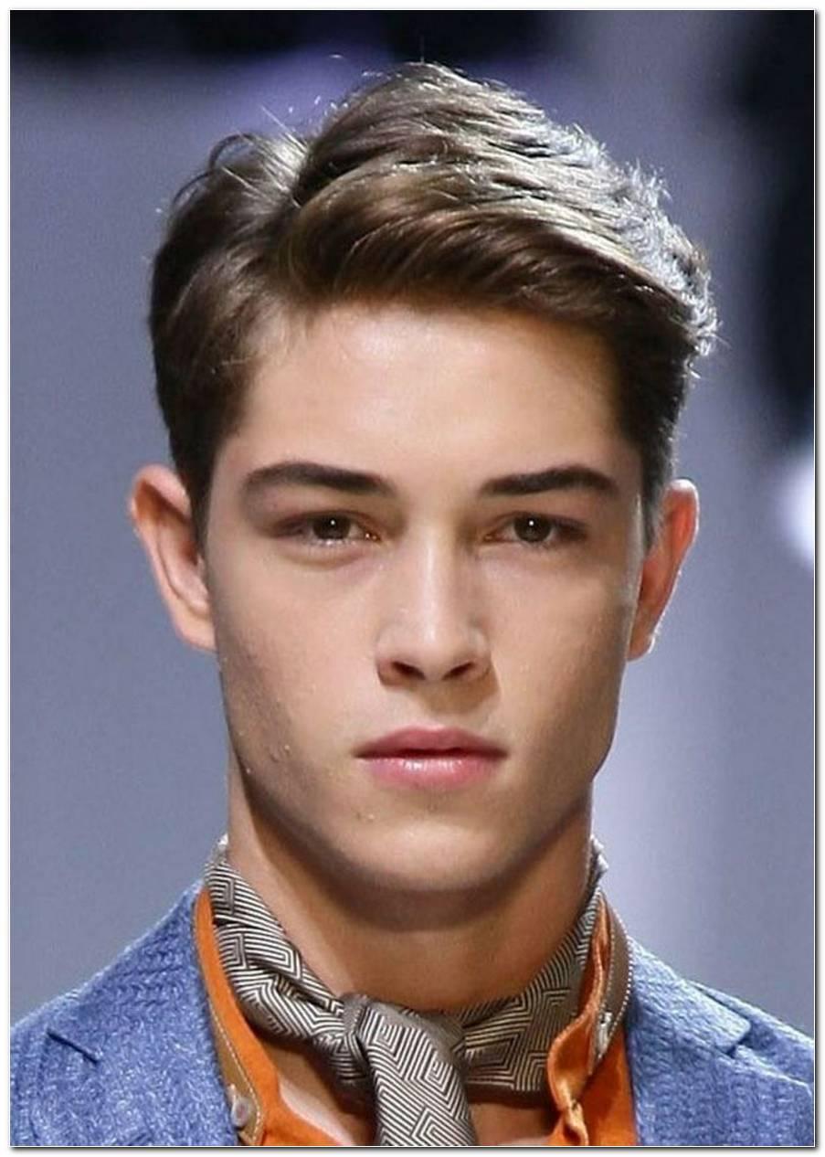 Jungen Frisuren Seitenscheitel