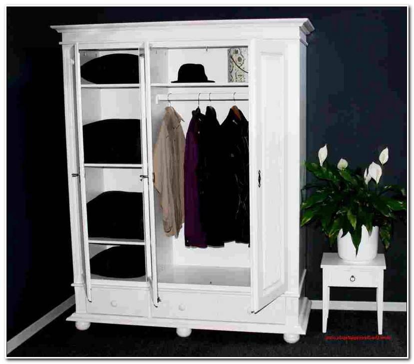 Keep Kleiderschrank Holz Weiß