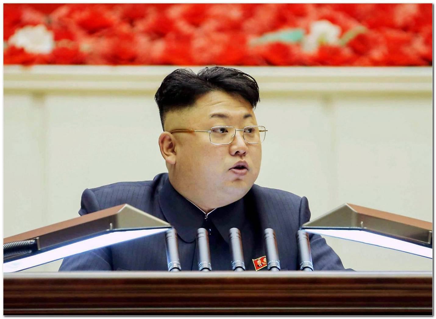 Kim Jong Un Frisur