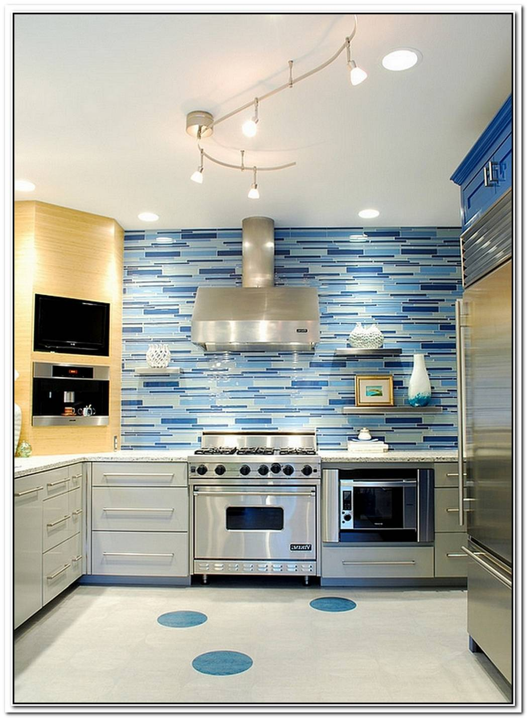 Kitchen Backsplash IdeasA Splattering Of The Most Popular Colors