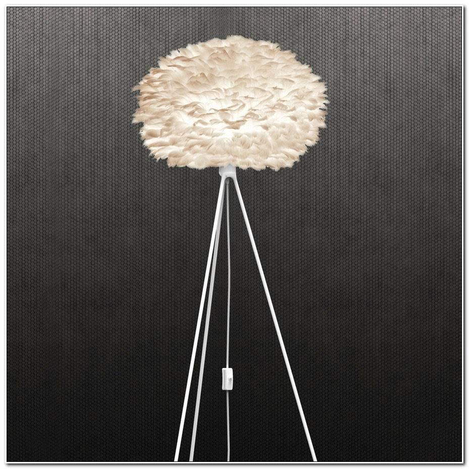 Lampe Plume Sur Pied