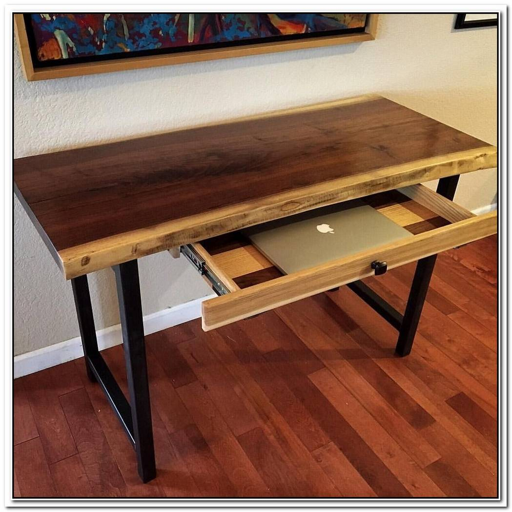 Laptop Table With Metal Edges