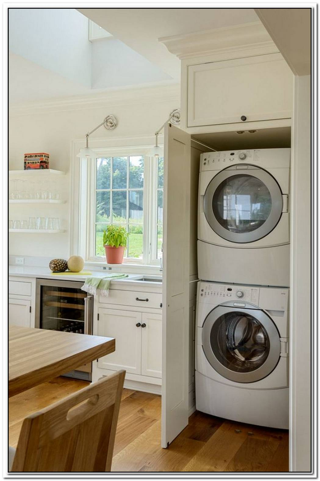 Laundry Room Bathroom Hideaway