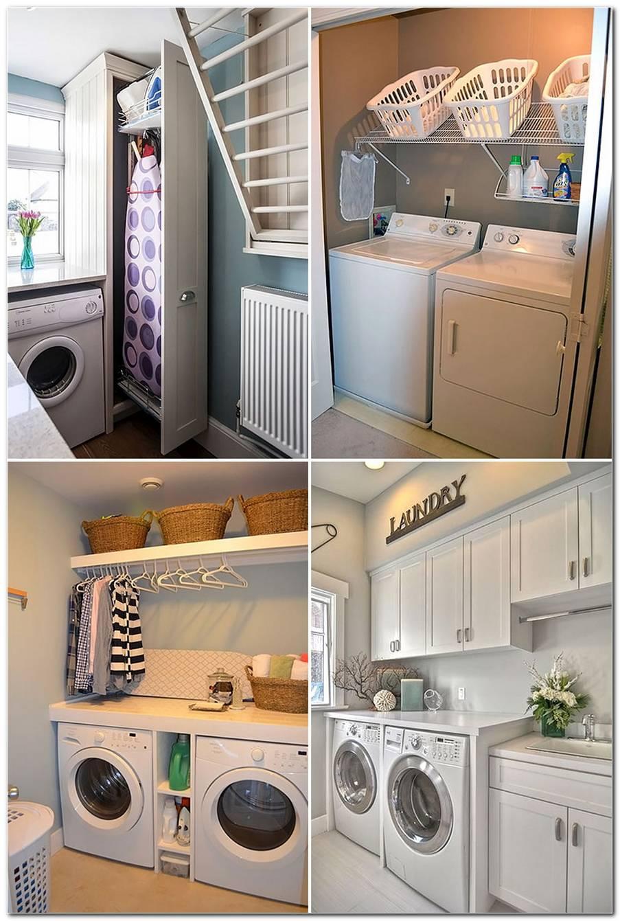 Lavanderia Pequena Como Organizar E Decorar