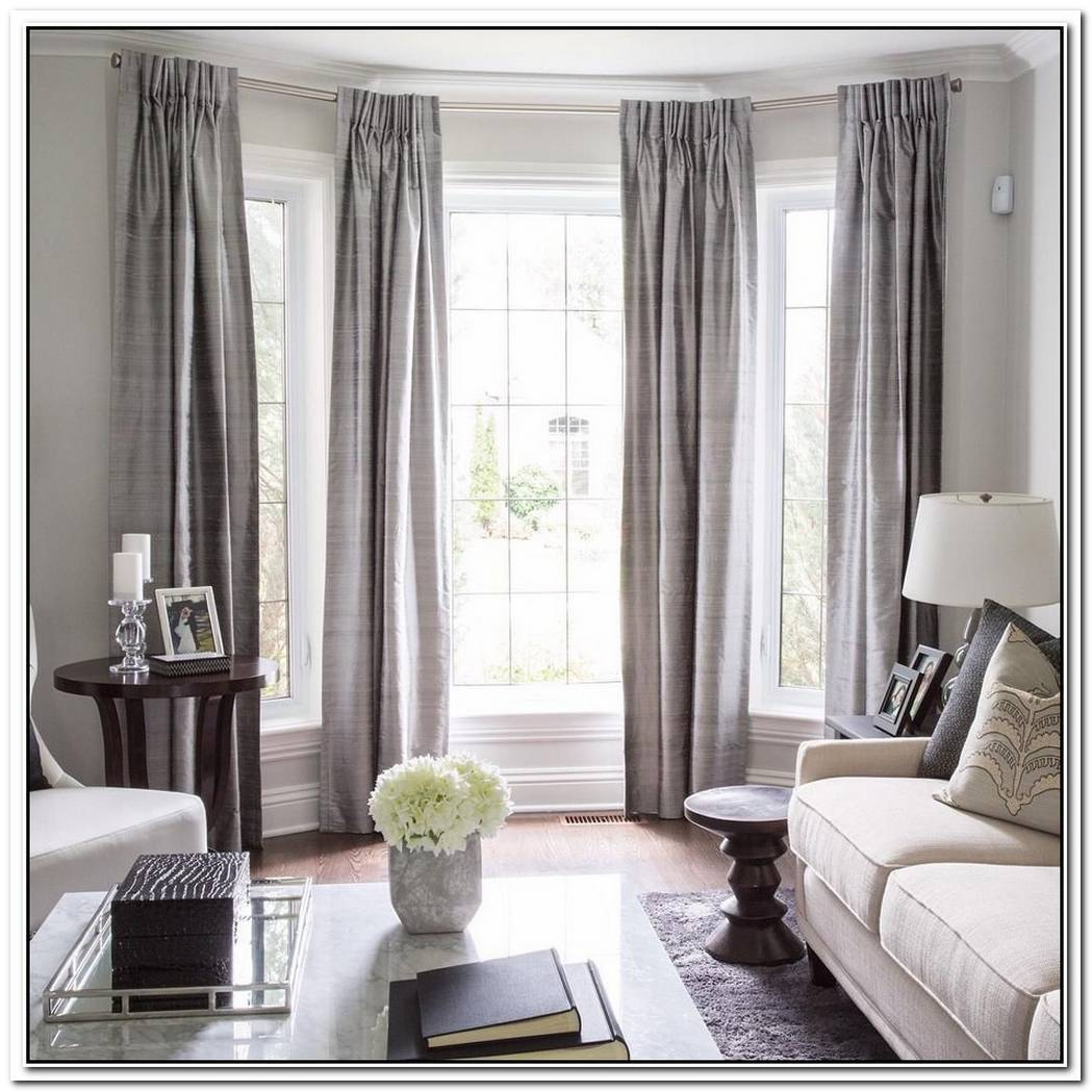 Layered Window Dressings Make Your Living Room Work