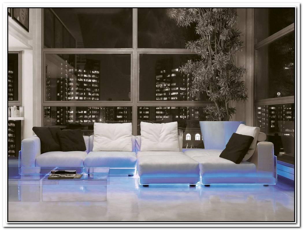 Led Lighted Sofa By Colico