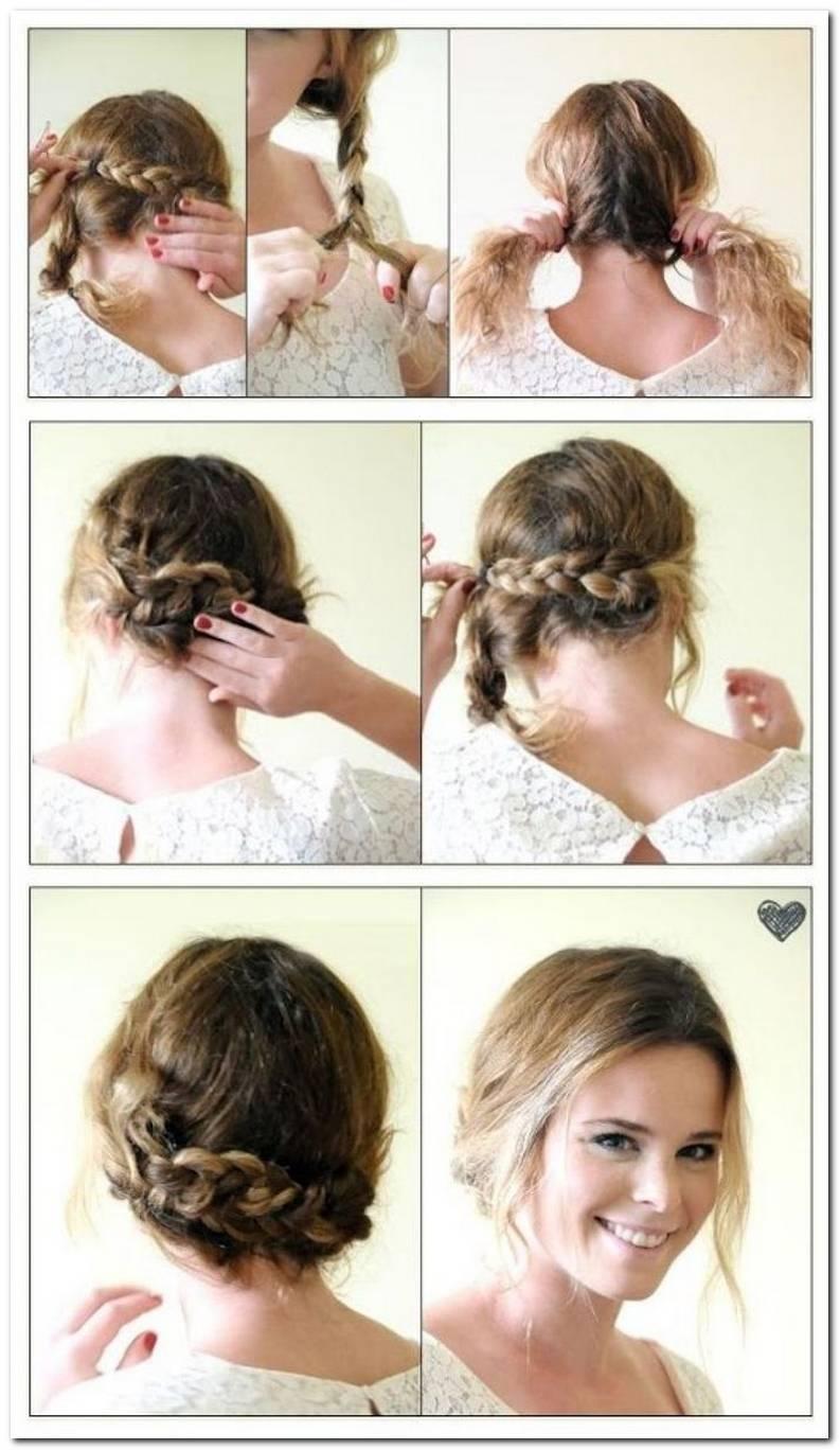 Leichte Frisuren Mit Anleitung