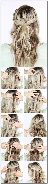 Leichte Frisuren Selber Machen Mittellange Haare