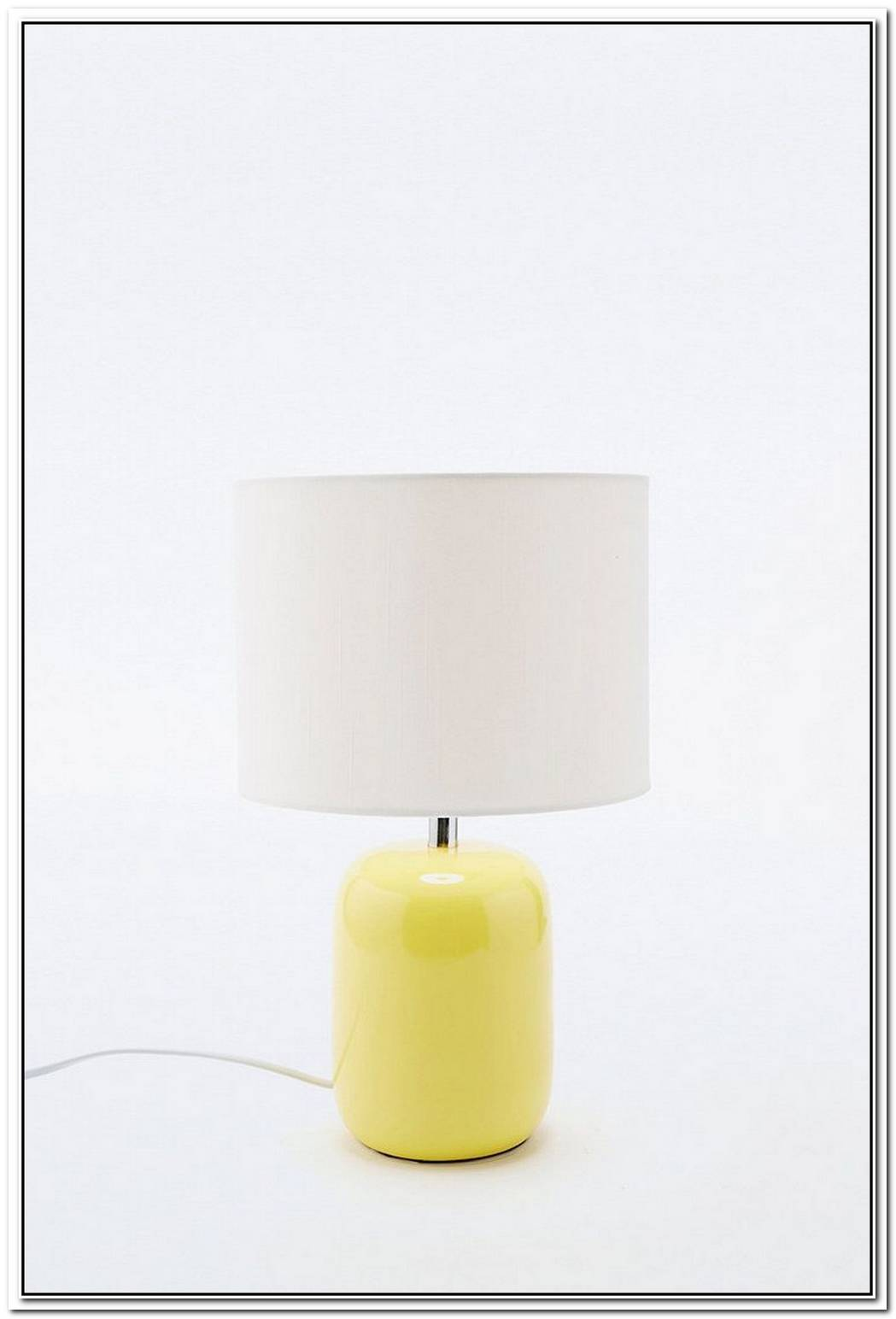 Lemon Yellow Lamp For Your Desk