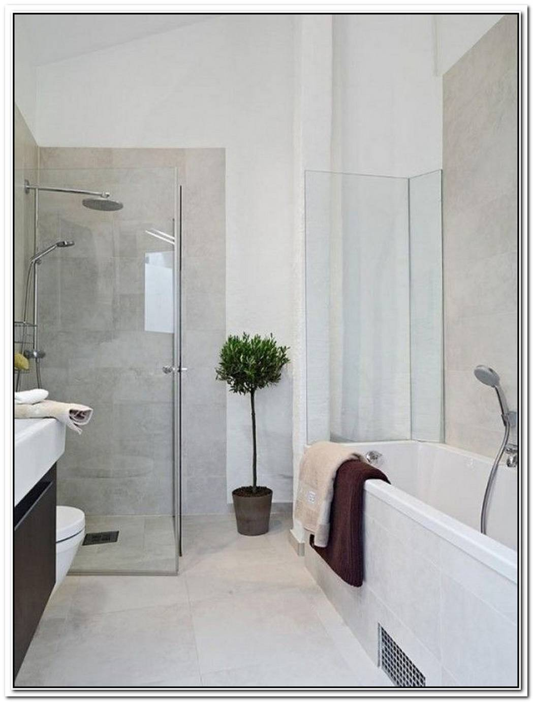 LessIsMore Modern Bathroom Decor