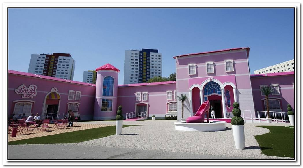 Life Size Barbie House In Malibu
