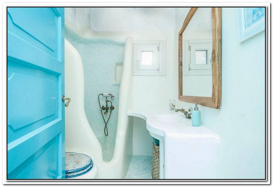 Light Blue Suite Bathroom