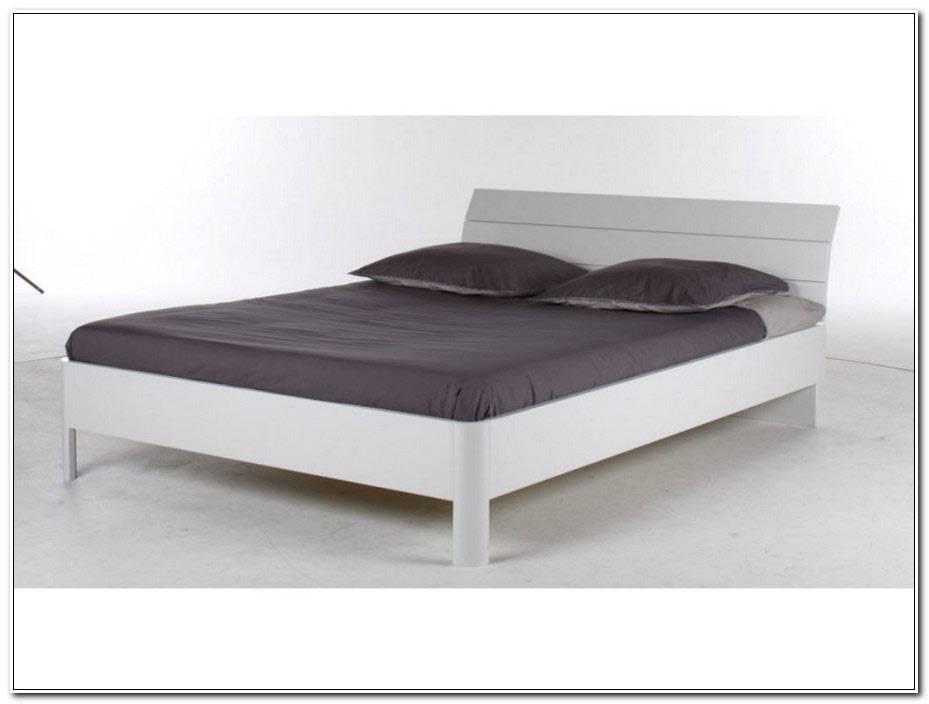 Lit 140 X 190 Blanc
