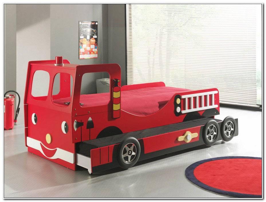 Lit Camion De Pompier Pas Cher
