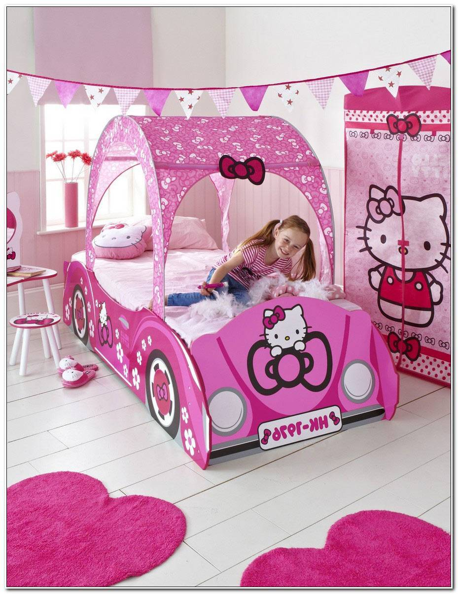 Lit Hello Kitty Voiture