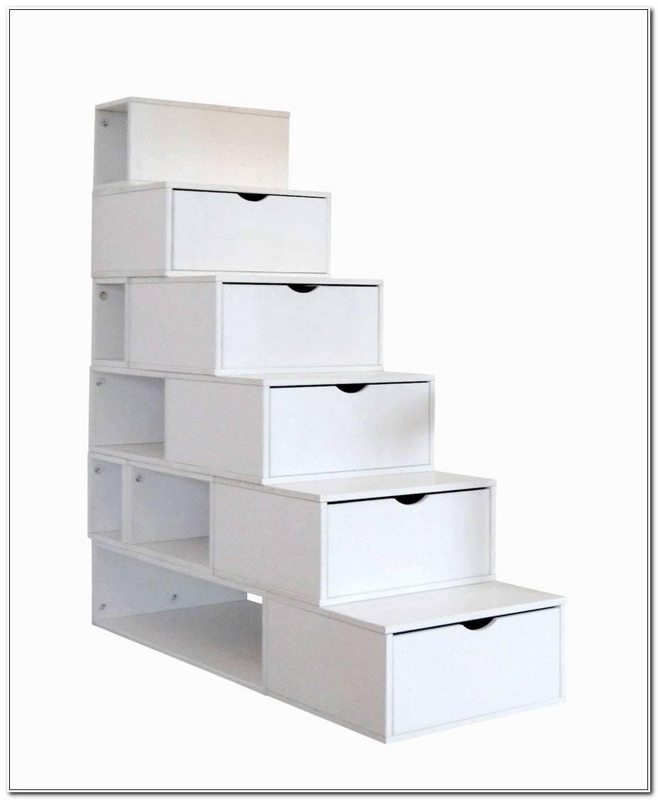 Lit Mezzanine Escalier Cube