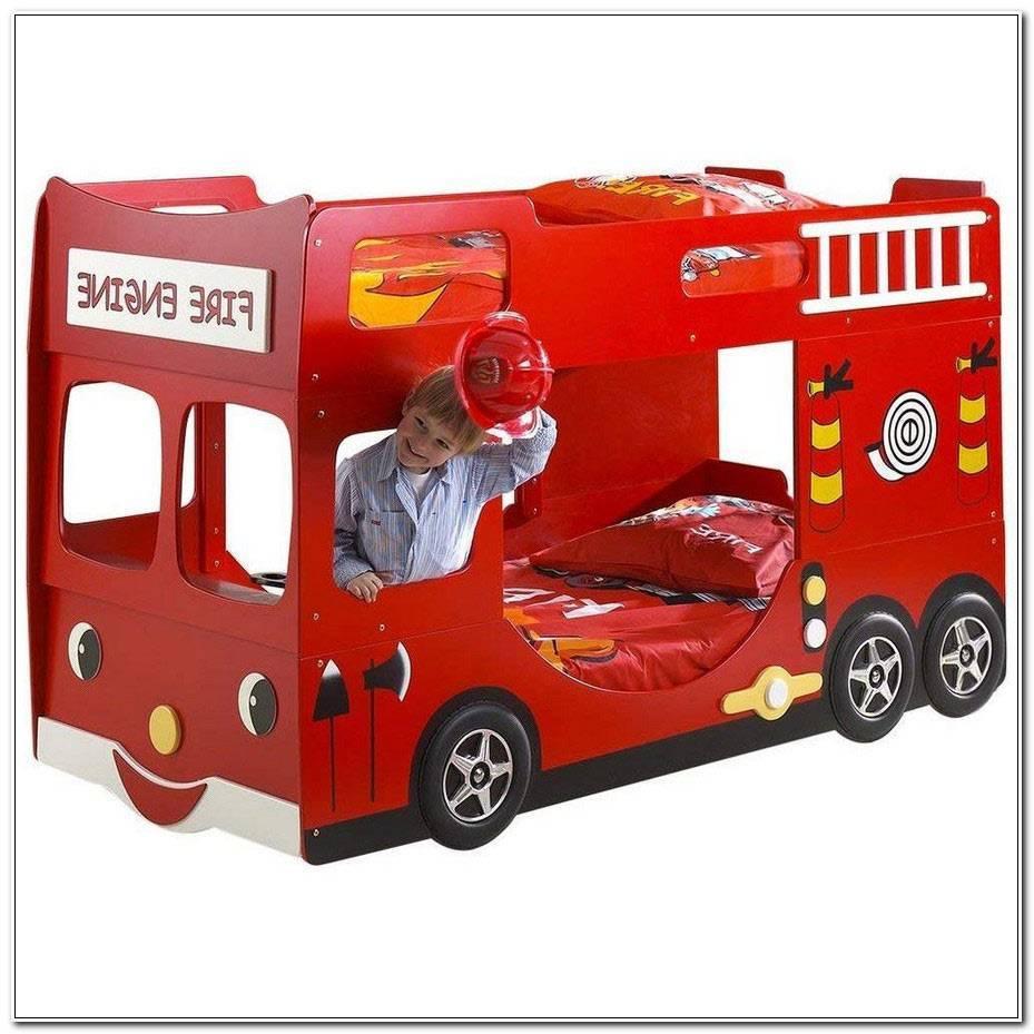 Lit Superpose Camion Pompier