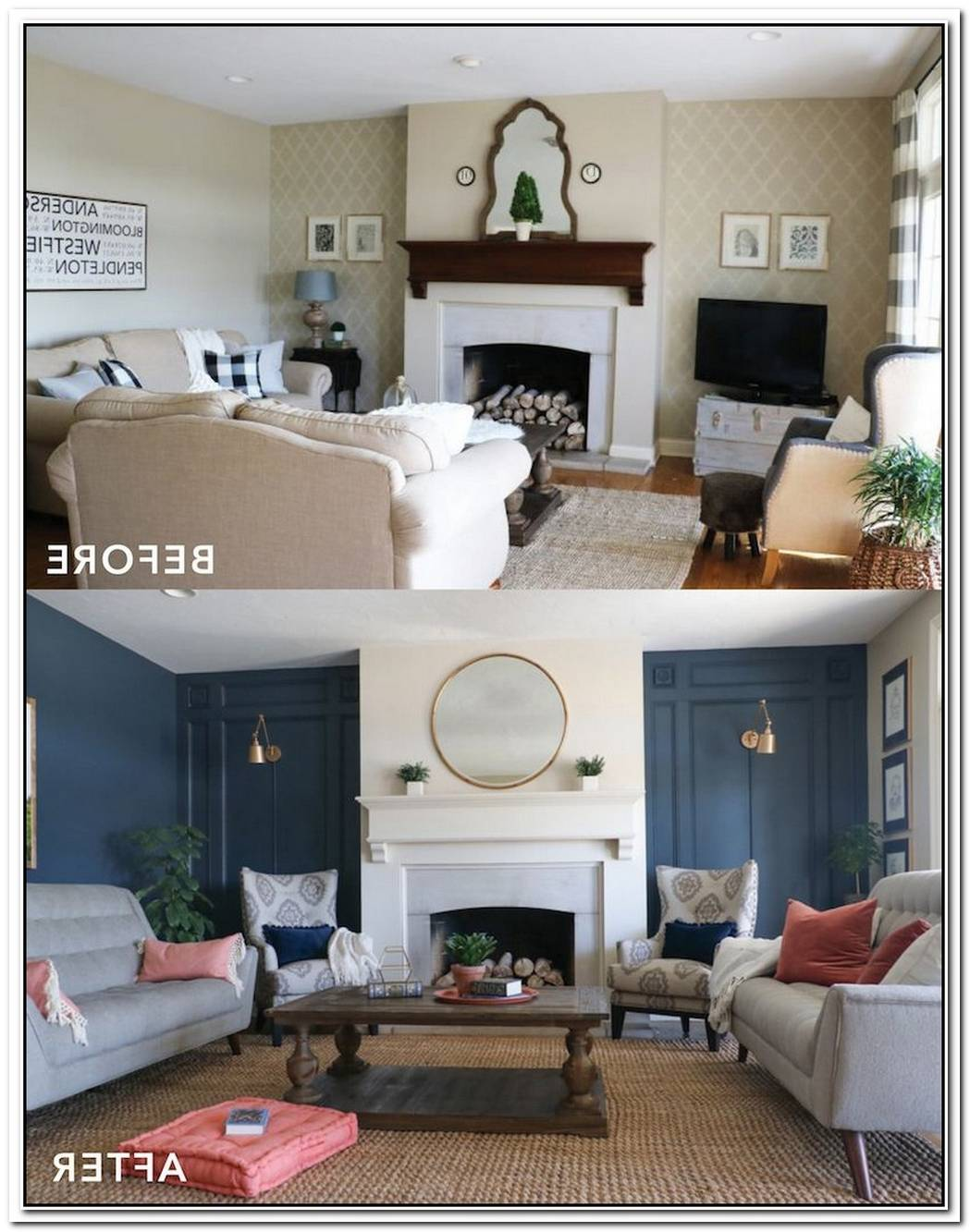 Living Room Makeover In Just Two Weekends