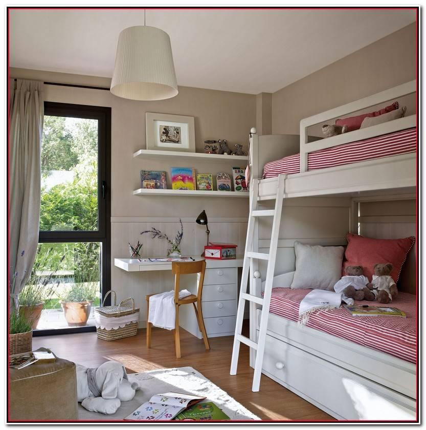 Lo Mejor De Habitaciones Infantiles Pequeñas Para Dos Galería De Habitaciones Ideas
