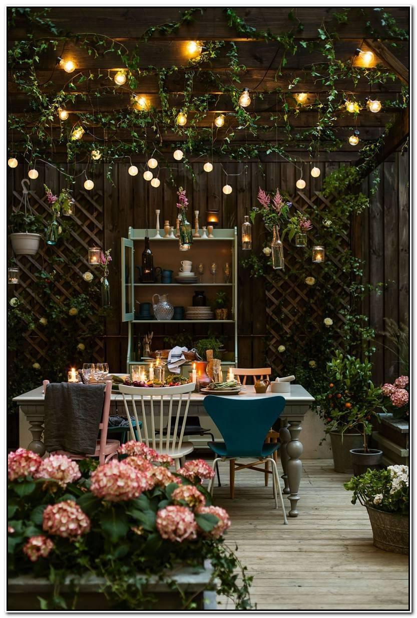 Lo Mejor De Luces Jardin Fotos De Jardín Decorativo