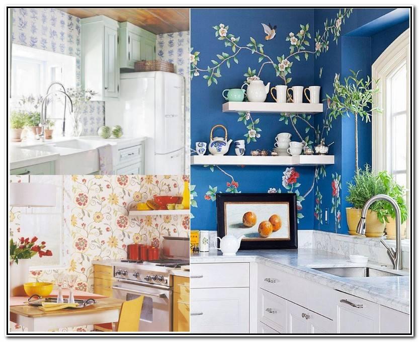 Lo Mejor De Papel Pintado De Cocina Fotos De Cocinas Decorativo