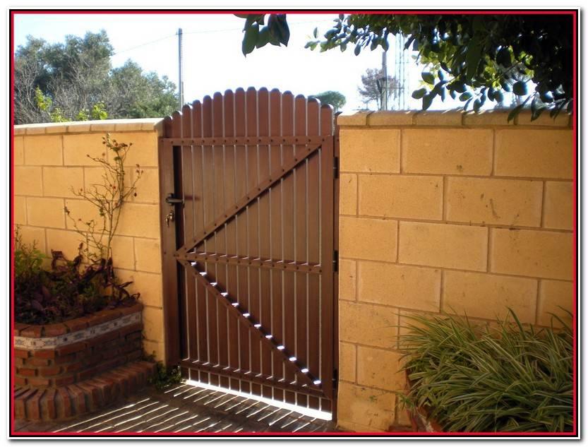 Lo Mejor De Puerta Madera Jardin Colección De Jardín Estilo